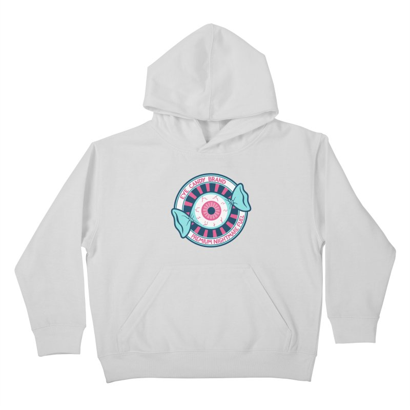 Eye Candy Badge Kids Pullover Hoody by Lupi Art + Illustration
