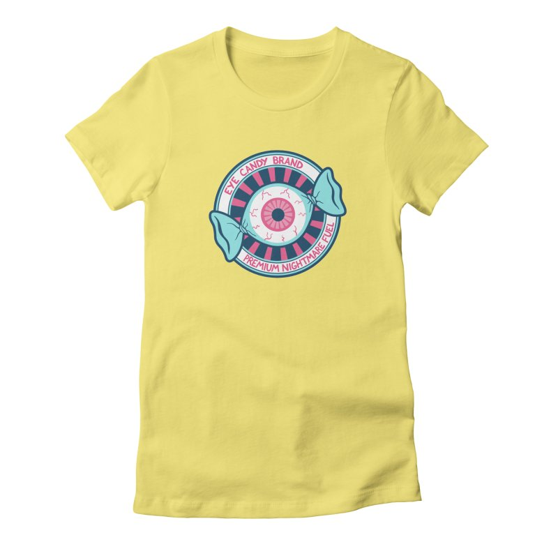 Eye Candy Badge Women's T-Shirt by Lupi Art + Illustration