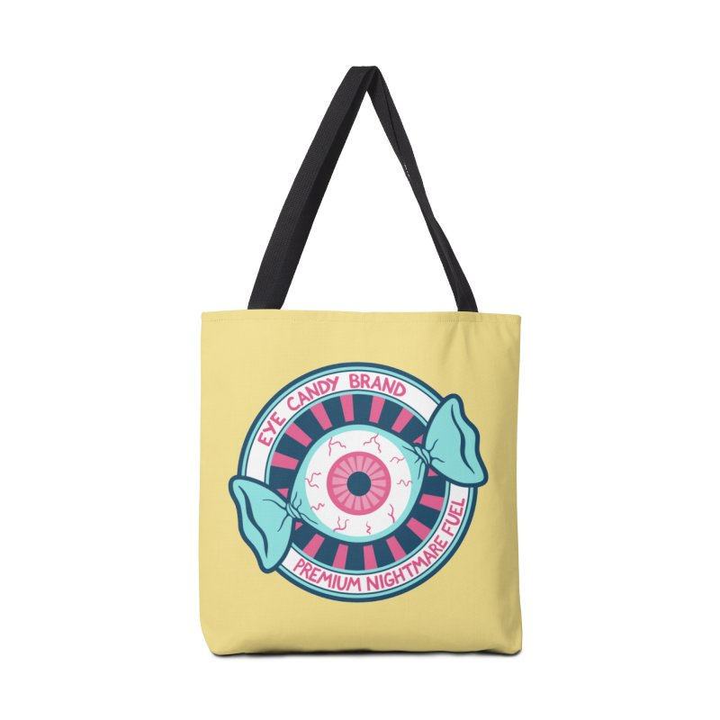 Eye Candy Badge Accessories Tote Bag Bag by Lupi Art + Illustration