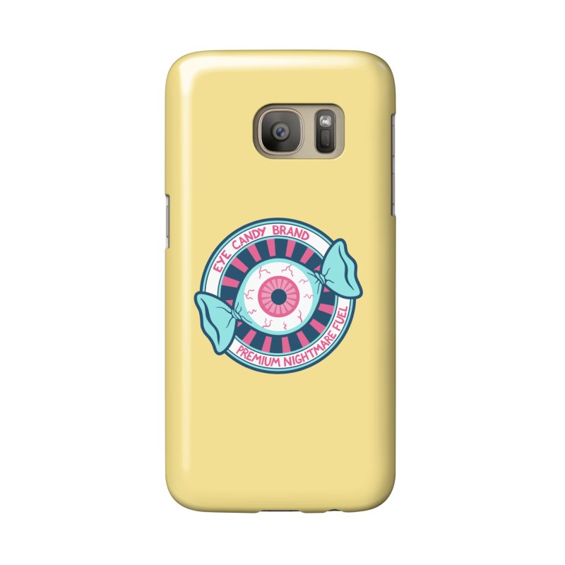 Eye Candy Badge Accessories Phone Case by Lupi Art + Illustration