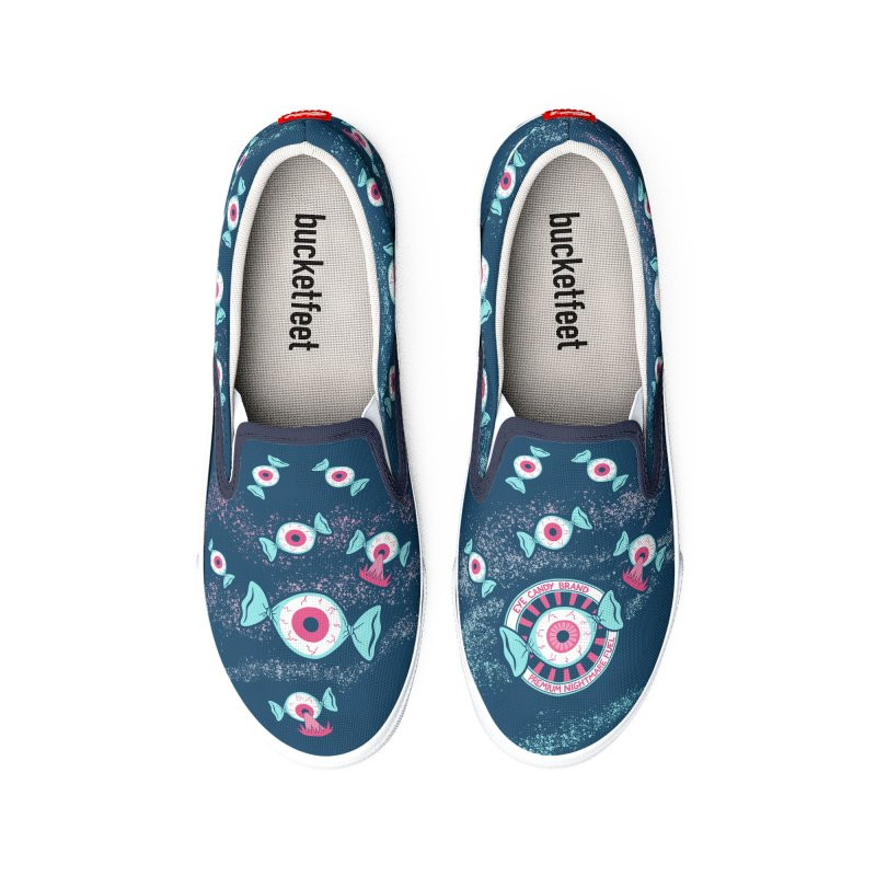 Eye Candy Badge Men's Shoes by Lupi Art + Illustration