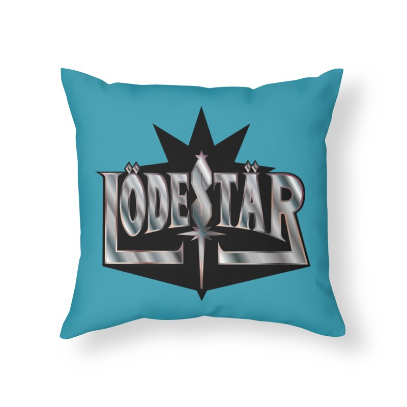 LödeStär Home Throw Pillow by Lupi Art + Illustration