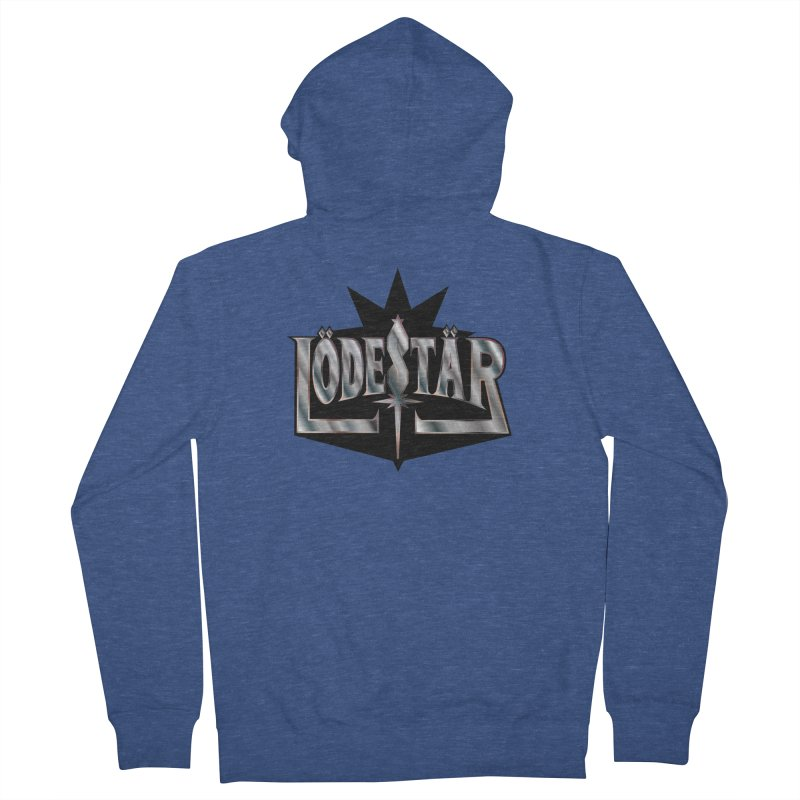 LödeStär Men's Zip-Up Hoody by Lupi Art + Illustration