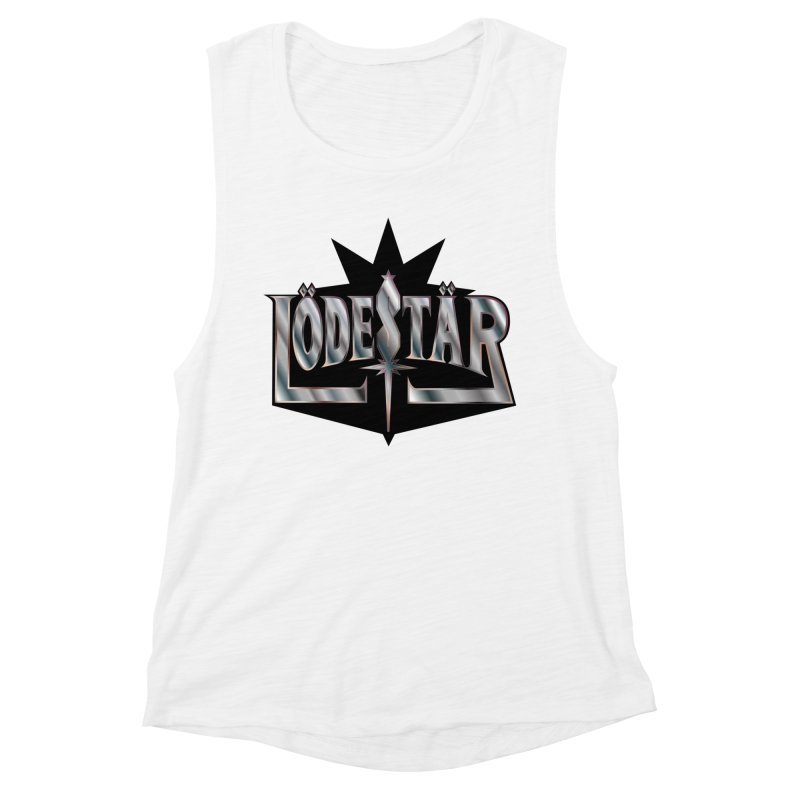 LödeStär Women's Muscle Tank by Lupi Art + Illustration