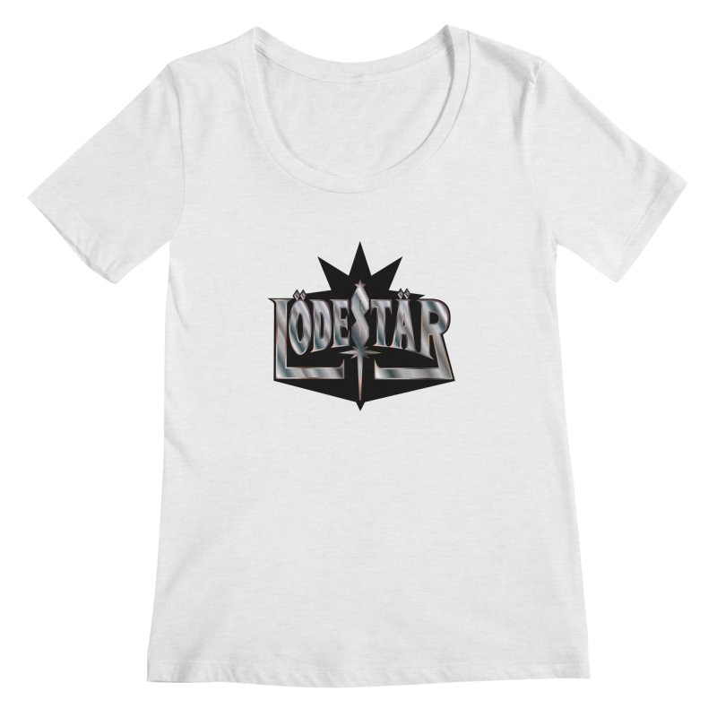 LödeStär Women's Regular Scoop Neck by Lupi Art + Illustration