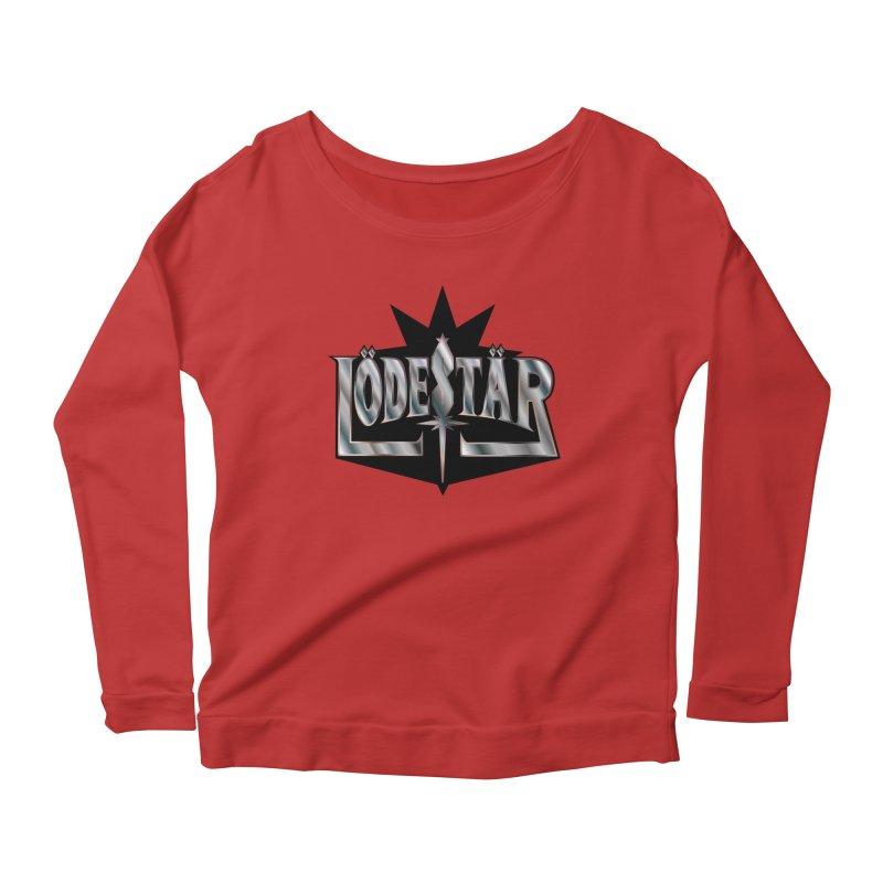 LödeStär Women's Scoop Neck Longsleeve T-Shirt by Lupi Art + Illustration