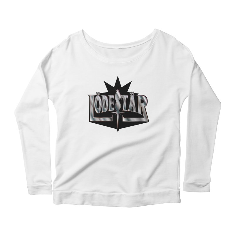 LödeStär Women's Scoop Neck Longsleeve T-Shirt by Lupi Art + Illustration