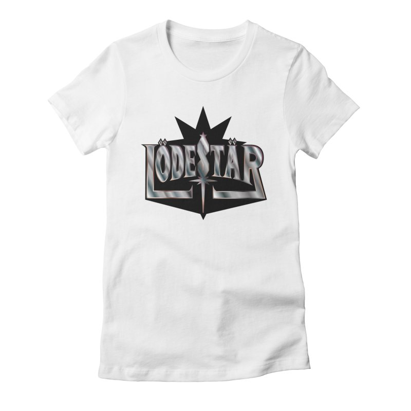 LödeStär Women's Fitted T-Shirt by Lupi Art + Illustration