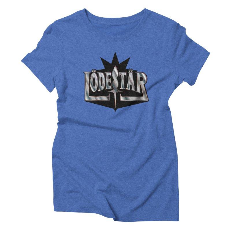 LödeStär Women's Triblend T-Shirt by Lupi Art + Illustration
