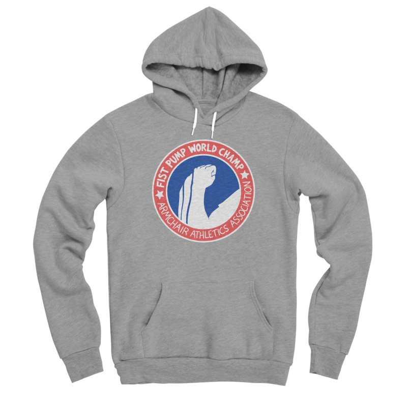 Fist Pump World Champ Women's Pullover Hoody by Lupi Art + Illustration