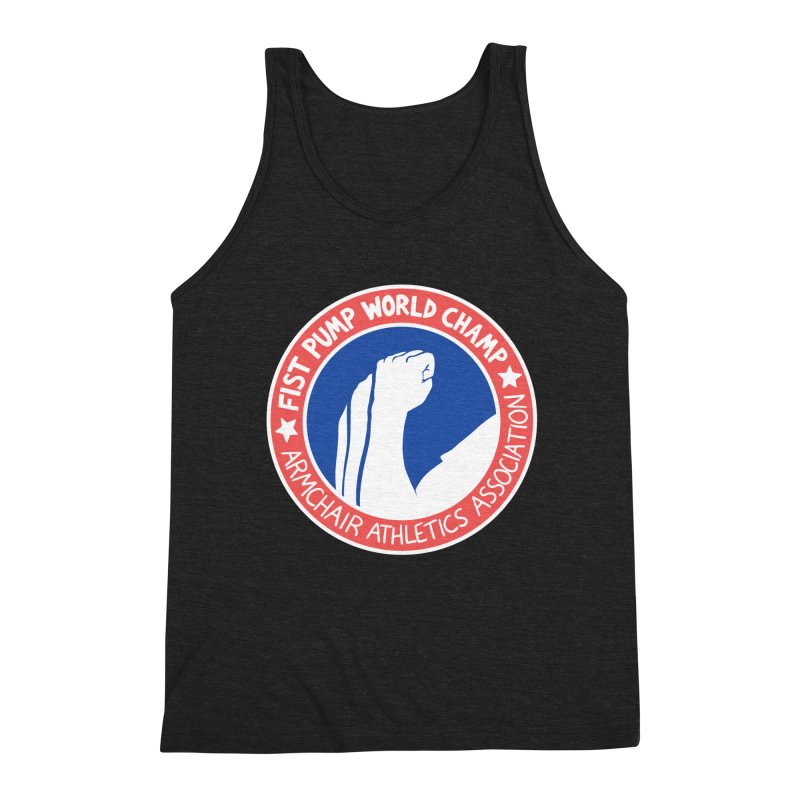 Fist Pump World Champ Men's Tank by Lupi Art + Illustration