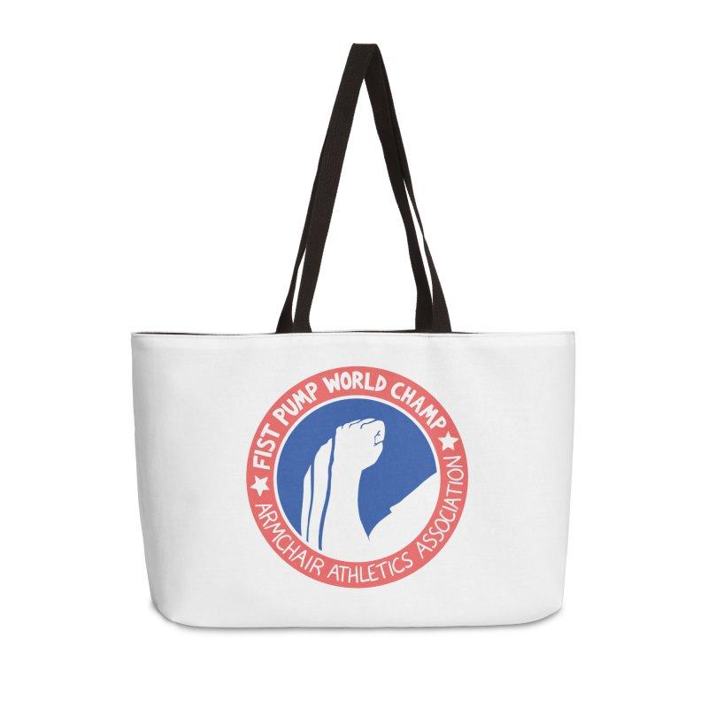 Fist Pump World Champ Accessories Bag by Lupi Art + Illustration