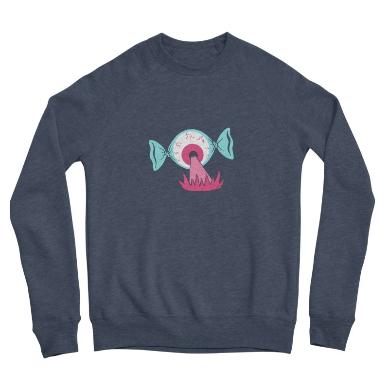 Eye Candy Men's Sweatshirt by Lupi Art + Illustration