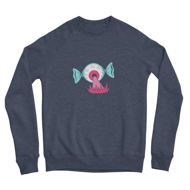Eye Candy Men's Sponge Fleece Sweatshirt by Lupi Art + Illustration