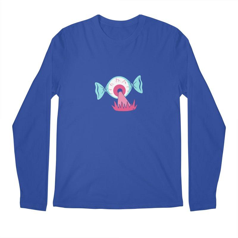 Eye Candy Men's Regular Longsleeve T-Shirt by Lupi Art + Illustration