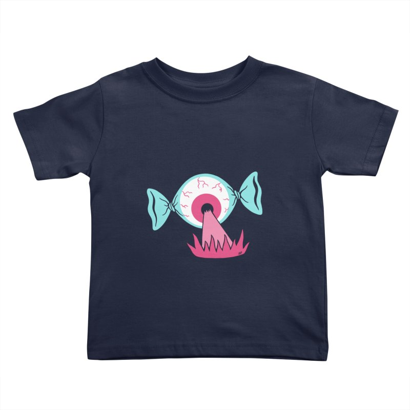 Eye Candy Kids Toddler T-Shirt by Lupi Art + Illustration