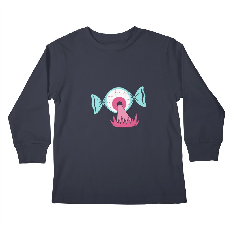 Eye Candy Kids Longsleeve T-Shirt by Lupi Art + Illustration