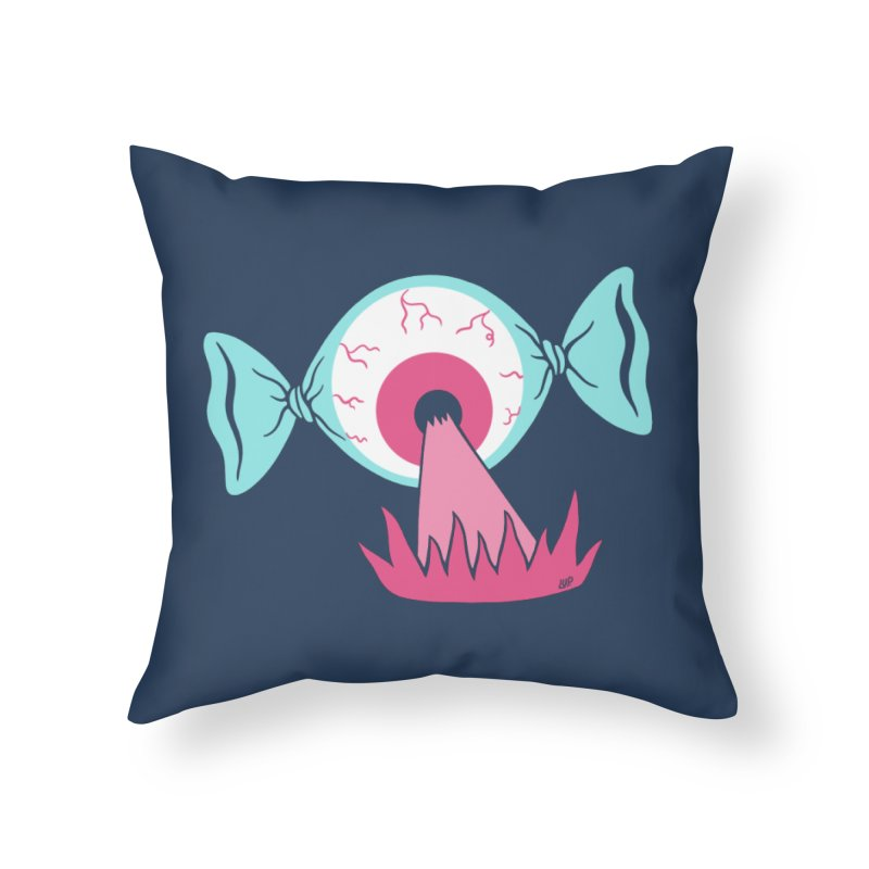 Eye Candy Home Throw Pillow by Lupi Art + Illustration