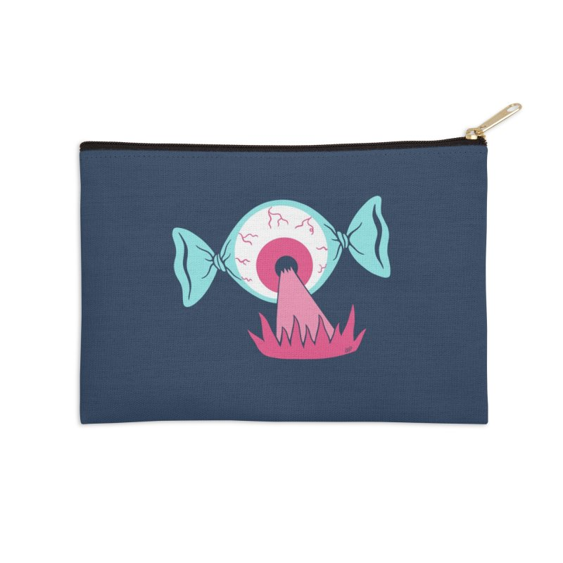 Eye Candy Accessories Zip Pouch by Lupi Art + Illustration