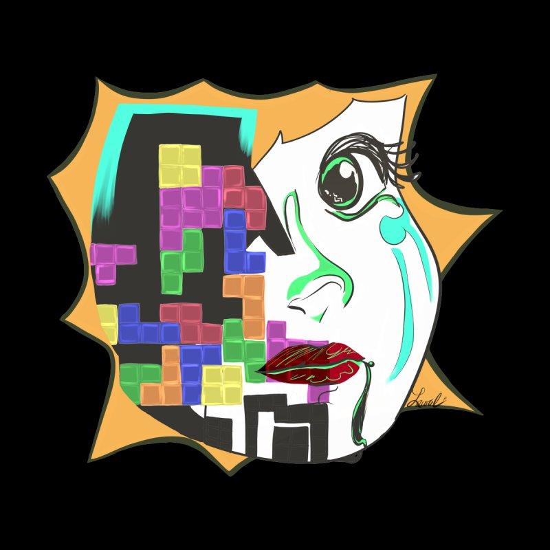 Abstract Tetris Men's T-Shirt by Lustrous Art & Design's Shop