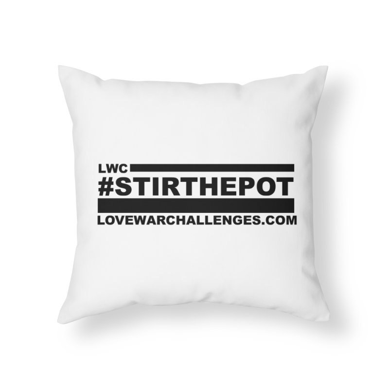 Stir The Pot Home Throw Pillow by Shop LWC