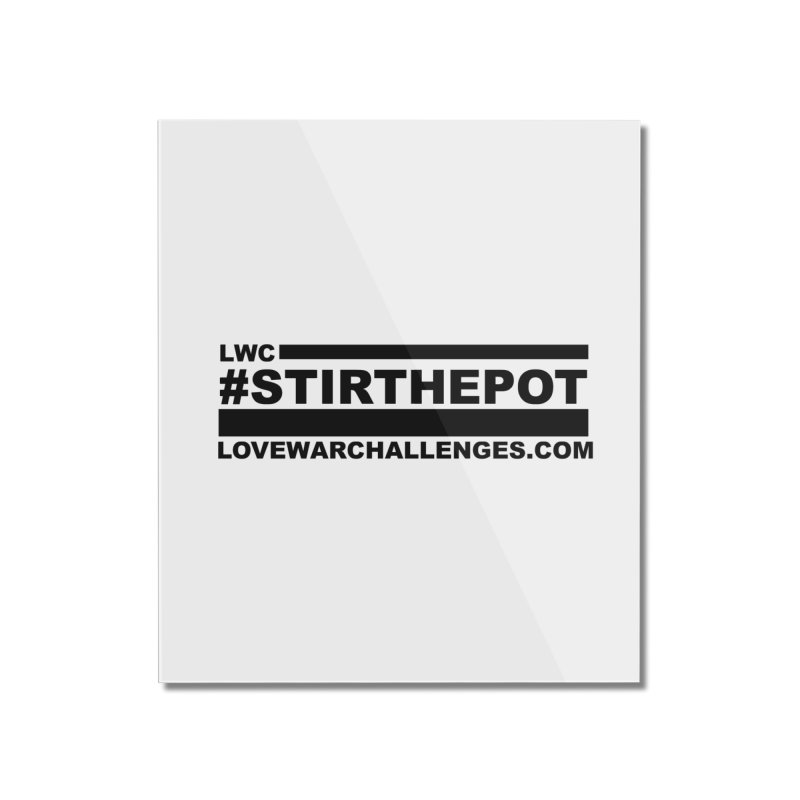 Stir The Pot Home Mounted Acrylic Print by Shop LWC