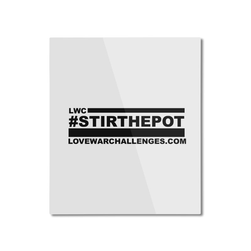 Stir The Pot Home Mounted Aluminum Print by Shop LWC
