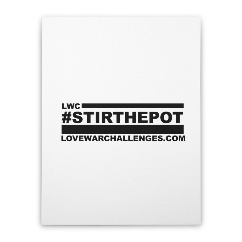 Stir The Pot Home Stretched Canvas by Shop LWC
