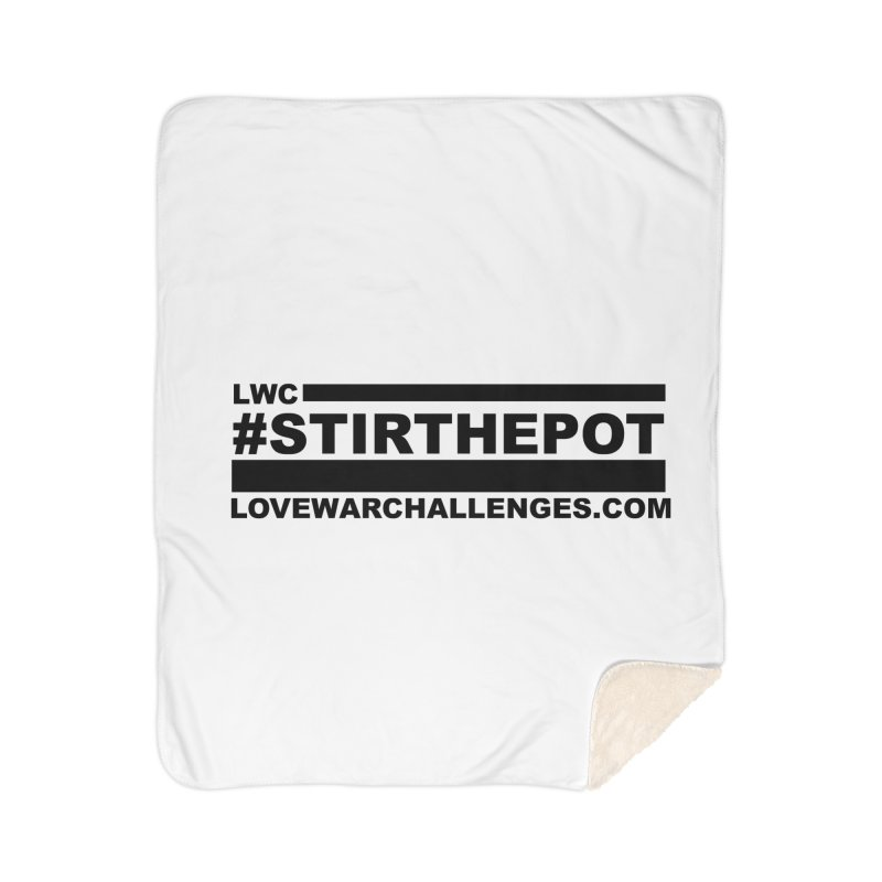 Stir The Pot Home Sherpa Blanket Blanket by Shop LWC