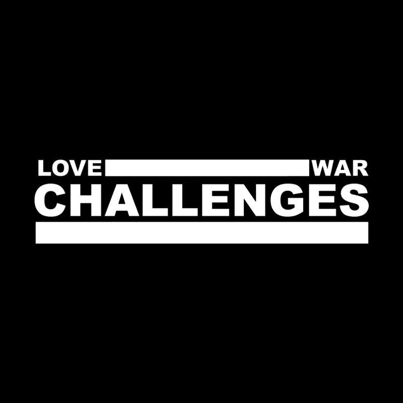 Love War Challenges Tee (Black) by Shop LWC