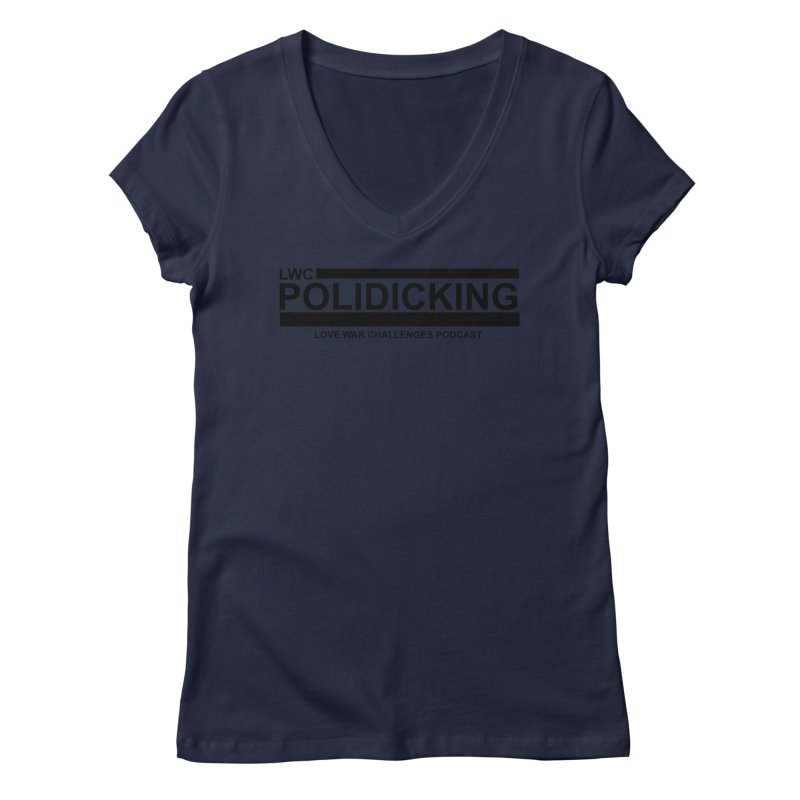 POLIDICKING Women's Regular V-Neck by Shop LWC