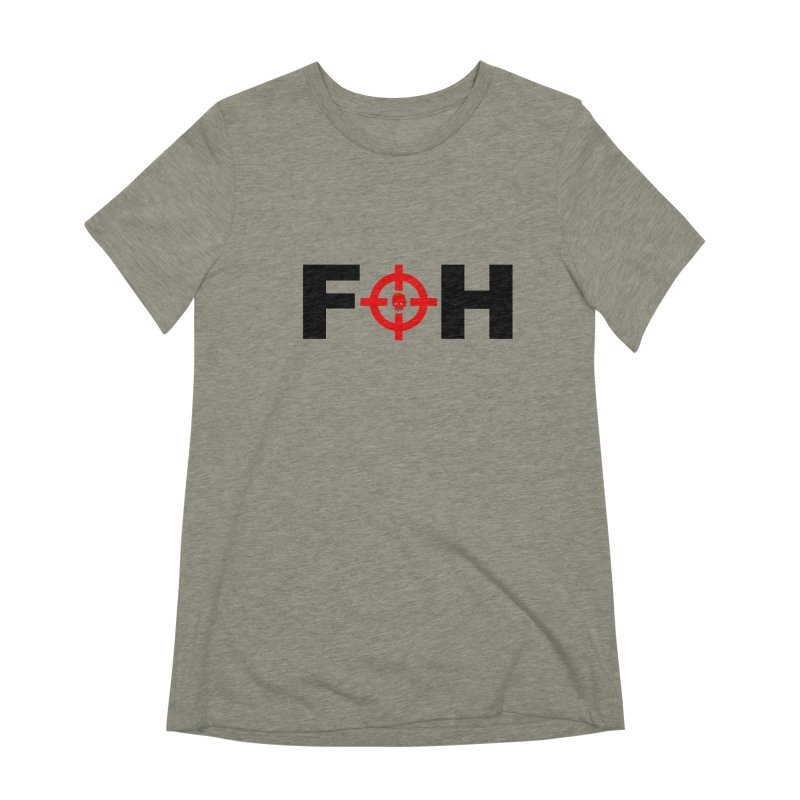 FOH (BLACK) Women's Extra Soft T-Shirt by Shop LWC