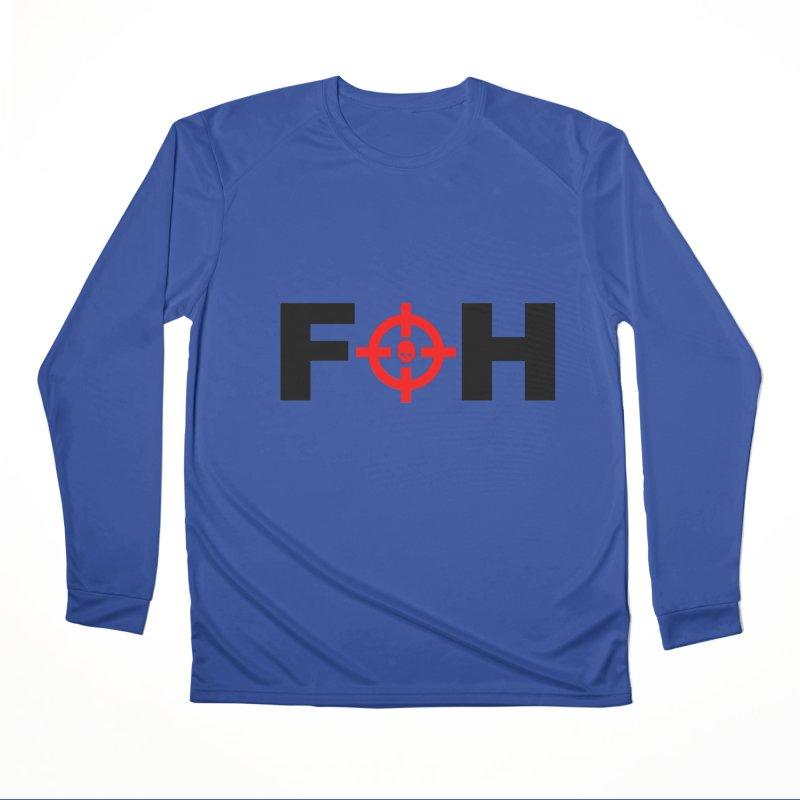 FOH (BLACK) Men's Performance Longsleeve T-Shirt by Shop LWC
