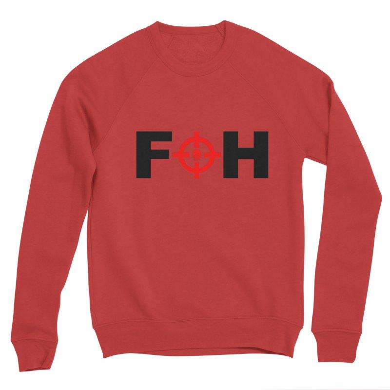 FOH (BLACK) Women's Sponge Fleece Sweatshirt by Shop LWC
