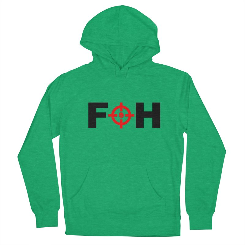 FOH (BLACK) Women's French Terry Pullover Hoody by Shop LWC