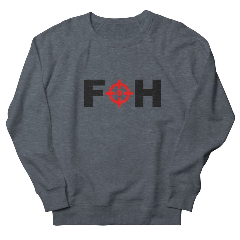 FOH (BLACK) Women's French Terry Sweatshirt by Shop LWC