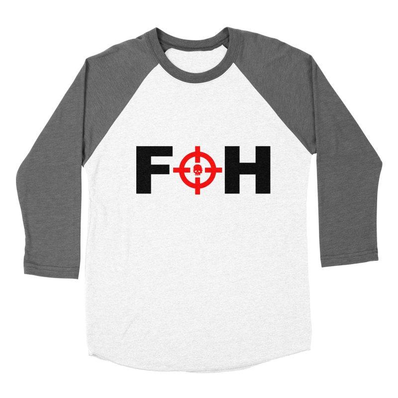 FOH (BLACK) Women's Baseball Triblend Longsleeve T-Shirt by Shop LWC