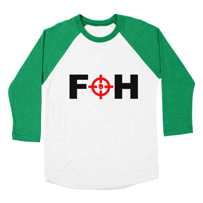 FOH (BLACK) Men's Baseball Triblend Longsleeve T-Shirt by Shop LWC
