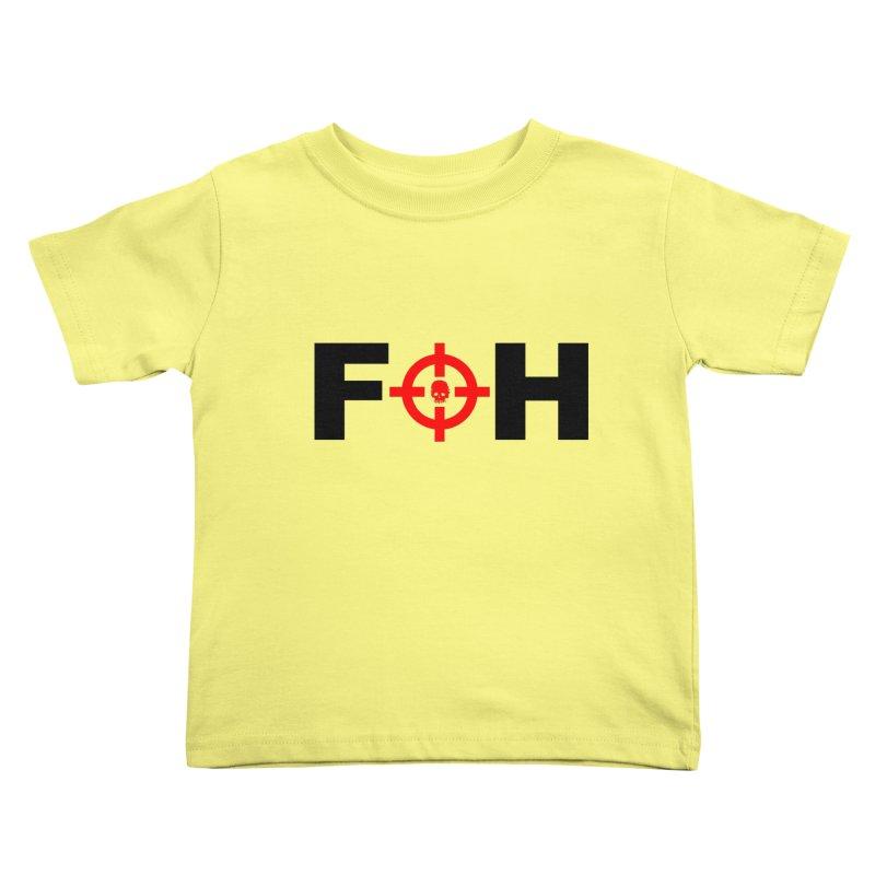 FOH (BLACK) Kids Toddler T-Shirt by Shop LWC