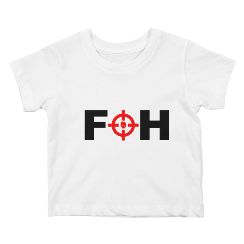 FOH (BLACK) Kids Baby T-Shirt by Shop LWC
