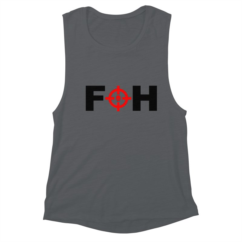 FOH (BLACK) Women's Muscle Tank by Shop LWC