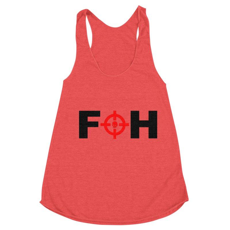 FOH (BLACK) Women's Racerback Triblend Tank by Shop LWC