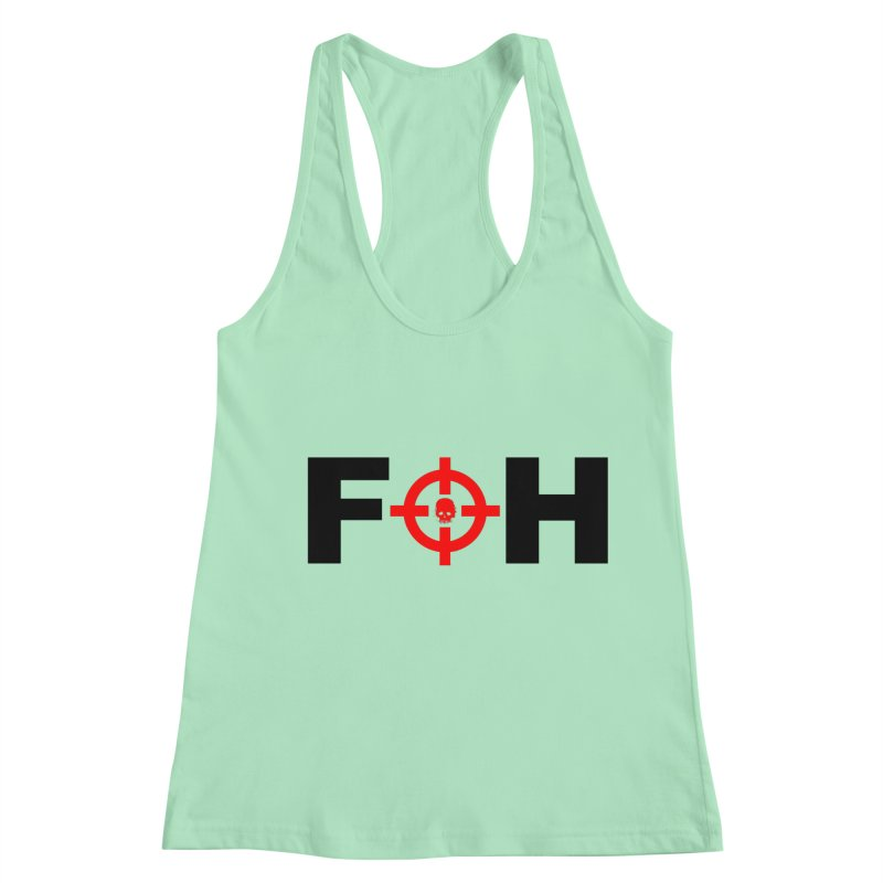 FOH (BLACK) Women's Racerback Tank by Shop LWC