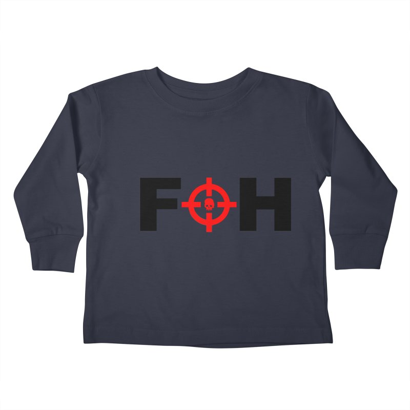FOH (BLACK) Kids Toddler Longsleeve T-Shirt by Shop LWC