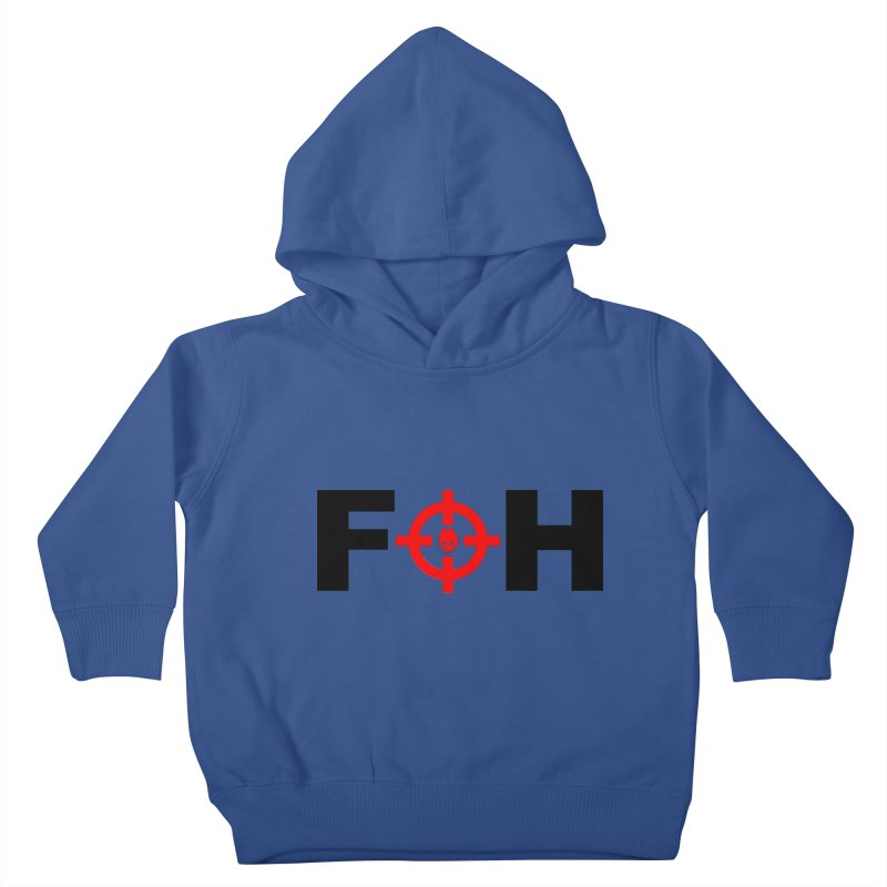 FOH (BLACK) Kids Toddler Pullover Hoody by Shop LWC