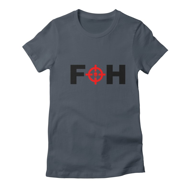 FOH (BLACK) Women's Fitted T-Shirt by Shop LWC