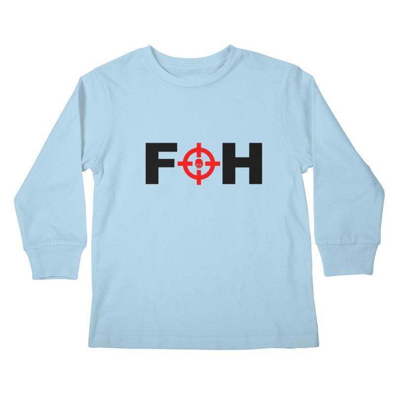 FOH (BLACK) Kids Longsleeve T-Shirt by Shop LWC