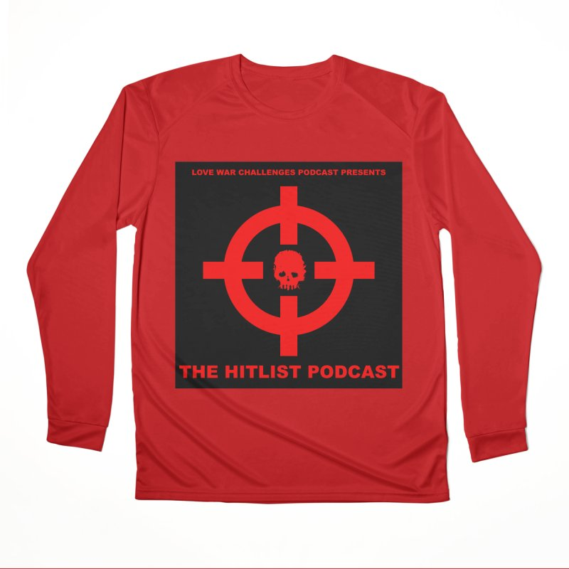 The Hitli$t Cover Men's Performance Longsleeve T-Shirt by Shop LWC