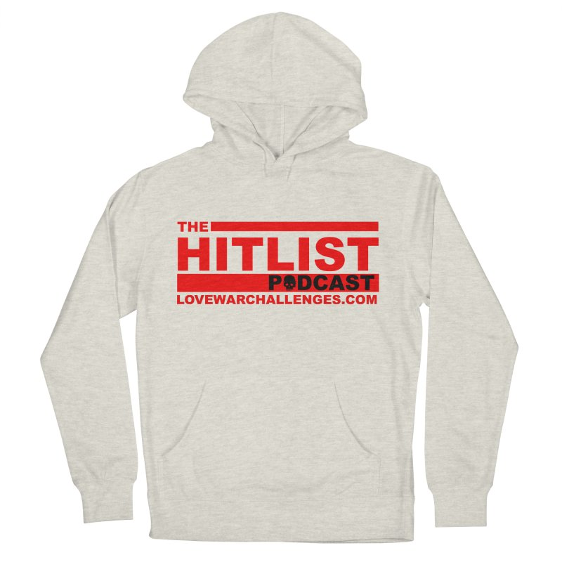 The Hitlist Logo (Red) Women's French Terry Pullover Hoody by Shop LWC