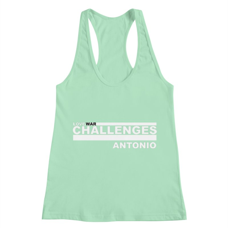 LWC ANTONIO Women's Racerback Tank by Shop LWC